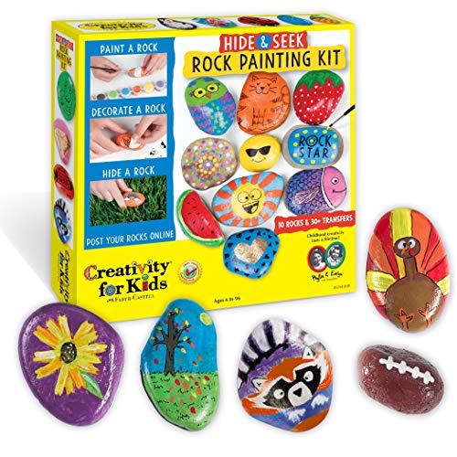 Creatividad para niños Hide & Seek Rock ...