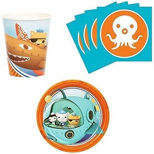 exclusivo Octonauts Birthday Party Supplies Supplies Supplies Set Plates Napkins Cups Kit for 16 by BirthdayExpress  servicio honesto