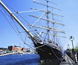 Title=Dublin Co Dublin Ireland; Sir John Rogerson's Quay Tall Ship & Jury's Hotel Artist=The Irish Image Collection / Design Pics Product Type=Fine Art Print Publisher=Design Pics