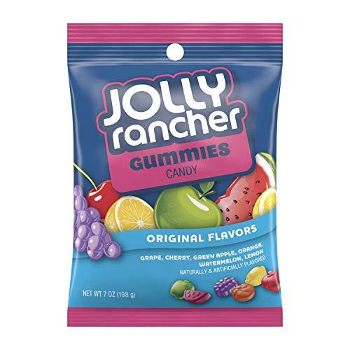 JOLLY RANCHER Easter Gummies Candy, Original, 7 Ounce (Pack of 12)