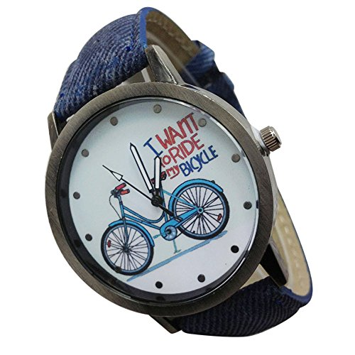Challeng Damen Armbanduhr Vintage Uhr Denim Waterproof Outdoor Sports Watch Luxus Armbanduhr Studenten Geschenk