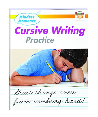 Mindset Moments Handwriting Practice Cursive Gr. 2-3 - NL4692