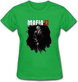 SAMMA Women's Mafia III Design Cotton T Shirt