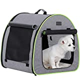 soft portable dog crate-home
