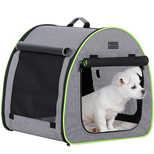 Petsfit 20#039#039X19#039#039X20LxWxH Inches Soft Portable Dog Crate/Cat Crate/Foldable Pet Kennel/Indoor Outdoor Pet Home