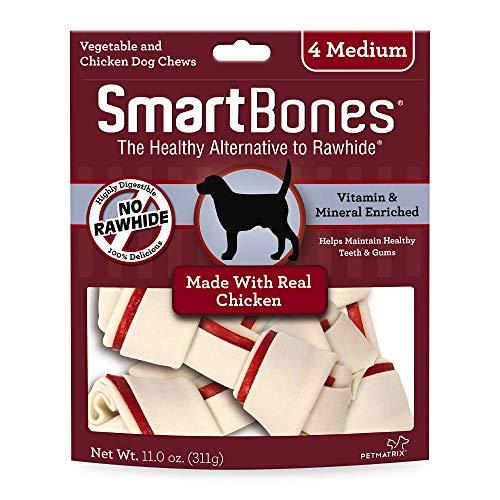 SmartBones SBC-00206 Medium Chicken Chews,4-count