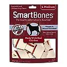 SmartBones Chicken Dog Chew, Medium, 4-Piece