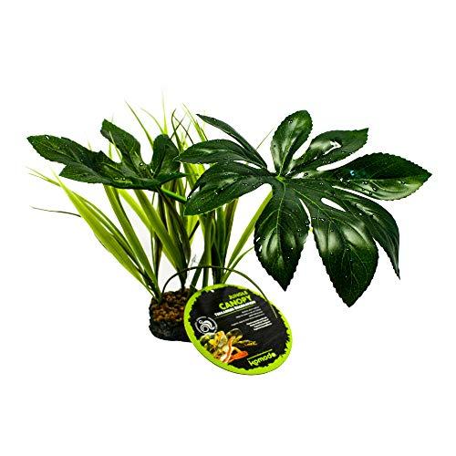 Komodo Jungle Canopy, Habitat Decor, Artificial Plant for Reptile, Reptile...