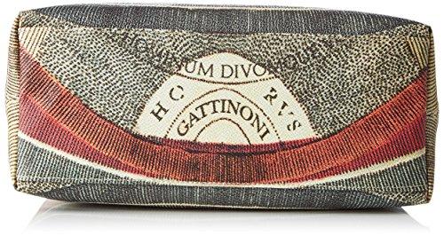 Gattinoni Gacpu0000097, Borsa a Mano Donna, Multicolore (Classico), 14x27x33 cm (W x H x L)