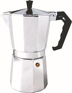 32gagwwc 50/150/300ml Portable Stovetop Coffee Maker Aluminum Pot Mocha Espresso Percolator Kettle Espresso Pot For 1-6 Cups, Moka Pot With Aluminum 150ml