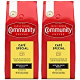 Community Coffee Café Special Medium-Dark Roast, Ground, 32 Ounces (Pack of 2)