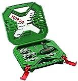 Bosch Professional 2 607 010 610 Bosch X-Line - Maletín de 54 unidades para taladrar y atornillar, 0 W, 0 V, Verde, Rojo, Set Piezas