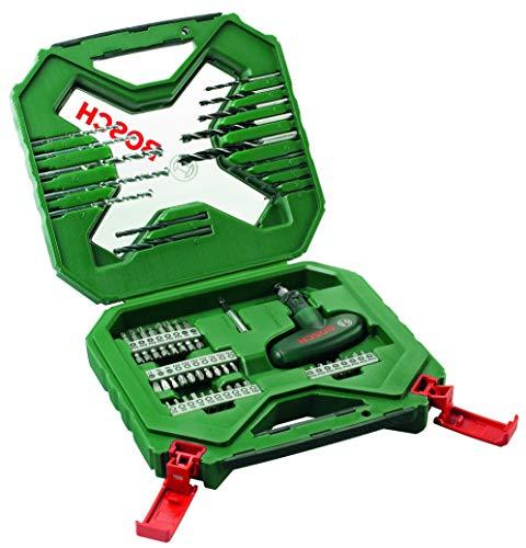 Bosch 2607010610 54-Piece X-Line Classic Drill and Screwdriver Bit Set