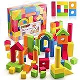 Best Soft Blocks For Babies - JaxoJoy Foam Building Blocks for Kids- 108 Piece Review