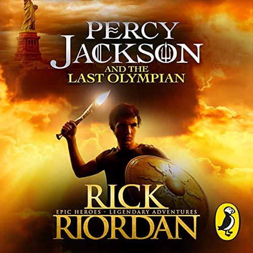 Percy Jackson and the Last Olympian Titelbild
