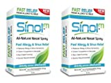 Sinol 'All Natural' Allergy & Sinus Nasal Spray (Set of 2)