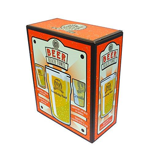 Oliphant - Beer O'Clock, telo mare a forma di pinta di birra, idea regalo per uomini