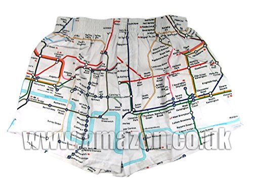 London Transport métro de London - Tube Map Caleçon (Medium)