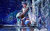 Lienzo Pinturas Arte De La Pared Hd Impresión Acuario Doce Constelaciones Hermosa Chica La Imagen Para La Decoración Moderna Del Hogar