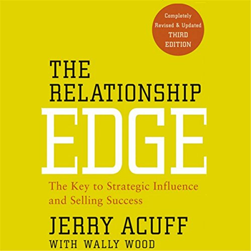 The Relationship Edge audiobook cover art