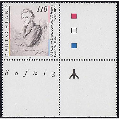 Goldhahn BRD Bund Nr. 1962 L postfrisch  Leerfeld Briefmarken für Sammler