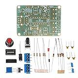 Silverdrew ICL8038 Módulo generador de señal de función monolítica Kit de Bricolaje Sine Square Triangle Electronic Board DC 12V Set