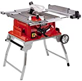 Einhell Table de sciage TE-CC 2025 UF (2000 W, 48 dents, Hauteur de travail : 850 mm, Piètement repliable, Poussoir, Support...