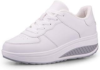 Donne Sneaker Dimagrante Scarpe Passeggio & Scarpe Ginnastica Fitness Cunei Piattaforma Scarpe
