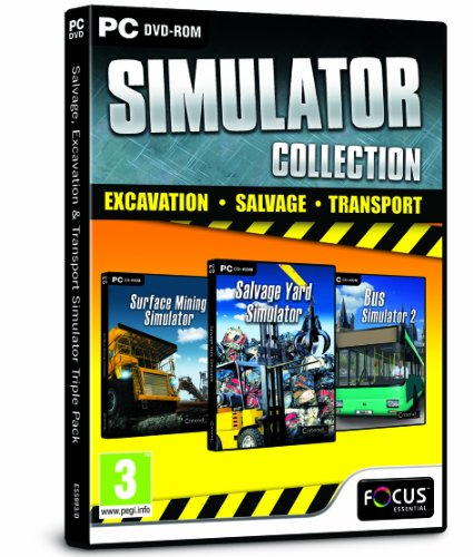 Salvage, Excavation and Transport Simulator Triple Pack (PC DVD)