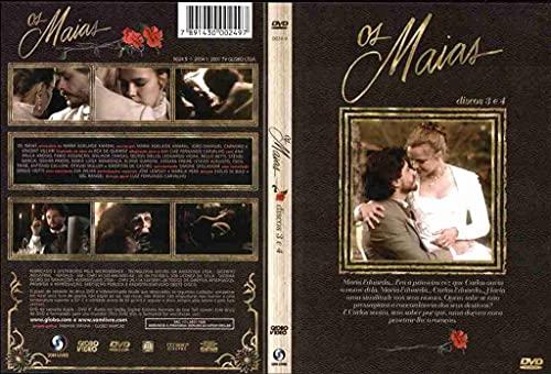 Minisserie Os Maias (4) Dvd completa