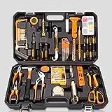 WXTLA 27-teiliger Universale Werkzeugkoffer, Premium Werkzeugset für den Heimwerker, Werkzeugsortiment - Werkzeug-Set - Werkzeug für den t?glichen Gebrauch/Werkzeugkoffer befüllt