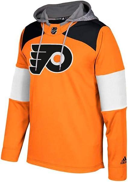 Amazon.com : adidas Philadelphia Flyers NHL Platinum Jersey Hoodie ...
