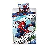 Spiderman Bettwäsche Bettwäsche, Bettbezug: 140 x 200 cm