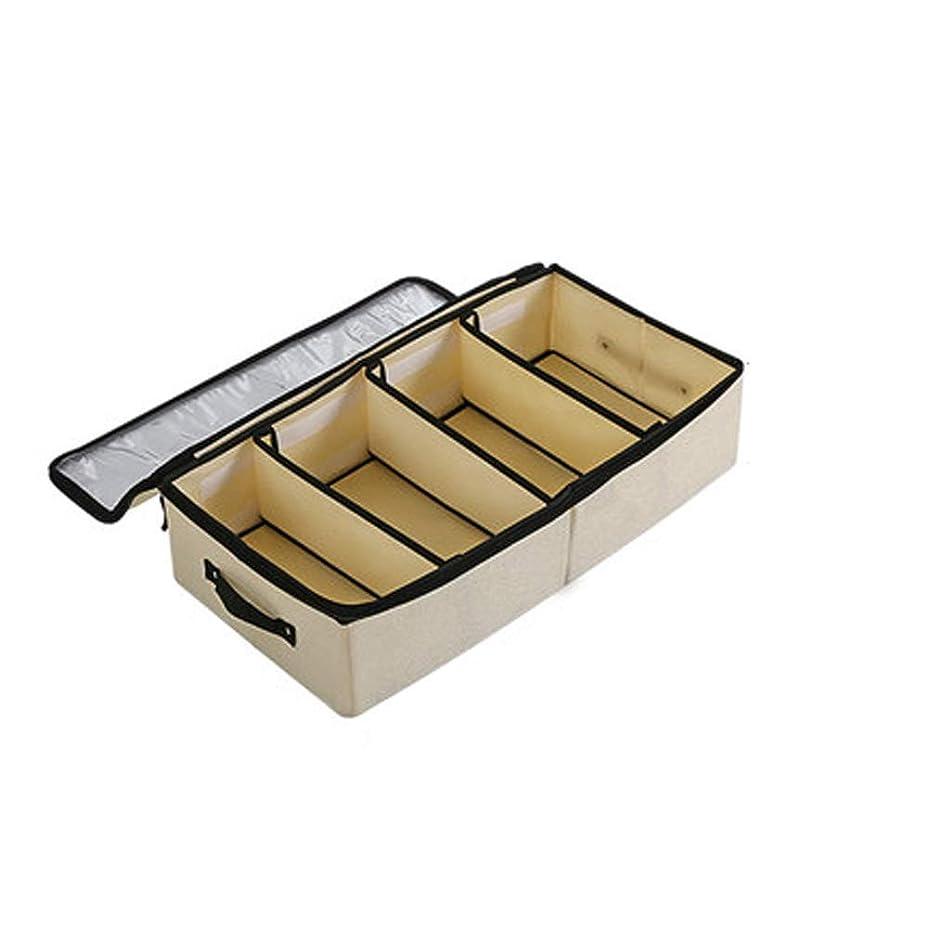 見捨てるスライム疎外するHEHUIHUI- 靴箱、プラスチック製の靴箱、積み重ね可能な靴箱(6個) (Color : White)