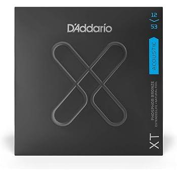 D'Addario ダダリオ アコースティックギター弦 XT コーティング弦 フォスファーブロンズ Light .012-.053 XTAPB1253 【国内正規品】