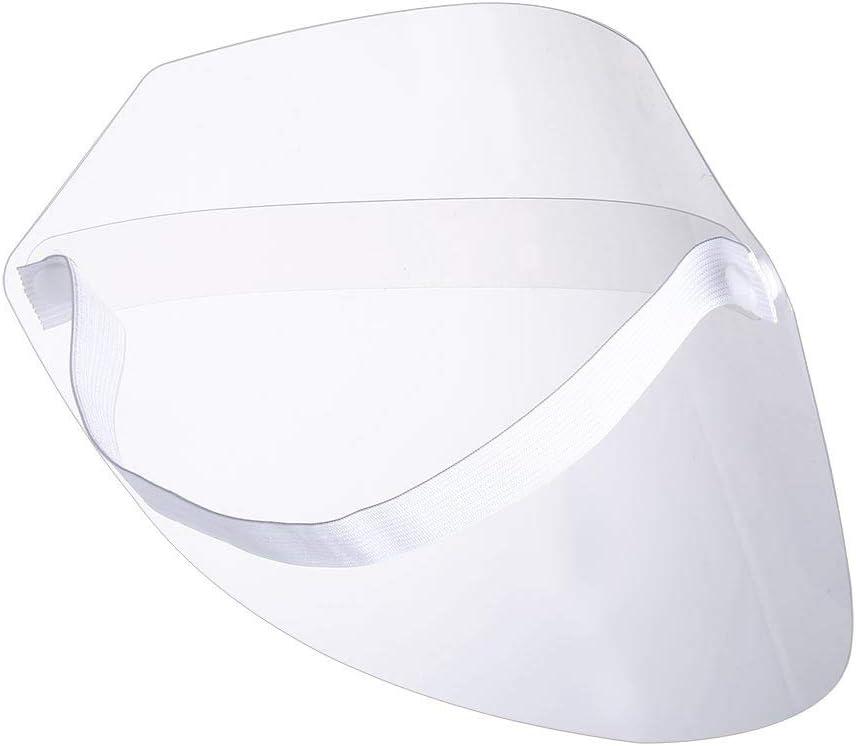 Younoo - Visera de protección facial (10 unidades, pantalla Facial completa para anti cramping, antivaho, antigrietas y antisaliva)