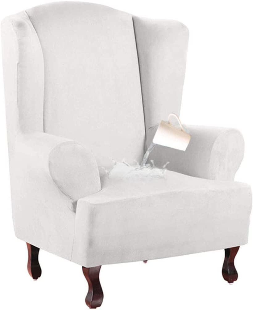 Challenge the lowest price of Japan YUENA CARE Wing Chair Max 42% OFF Cover Slipcovers f Stretch Waterproof High