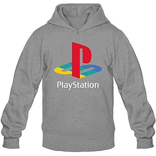 JAMES PERKINS Men's Playstation Logo Hoodie Sweatshirt