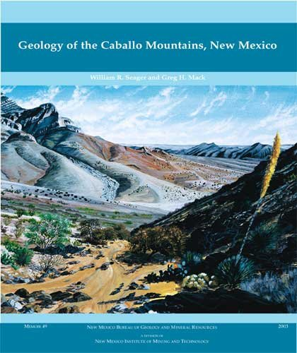 Geology of the Caballo Mountains, New Mexico (Memoir (New Mexico. Bureau of Geology and Mineral Resources), 49.)