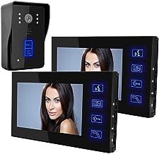Timbre DYWLQ video, pantalla TFT LCD 2 de 7 pulgadas de baja potencia sin radiación, cámara IR con visión nocturna, timbr...