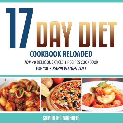 17 Day Diet Cookbook Reloaded audiobook cover art