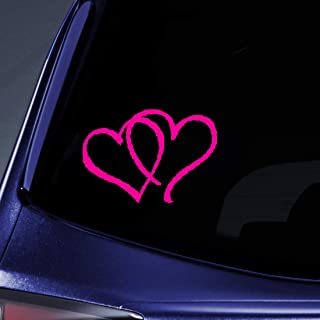 Bargain Max Decals - Hearts Sticker Decal Notebook Car Laptop 3