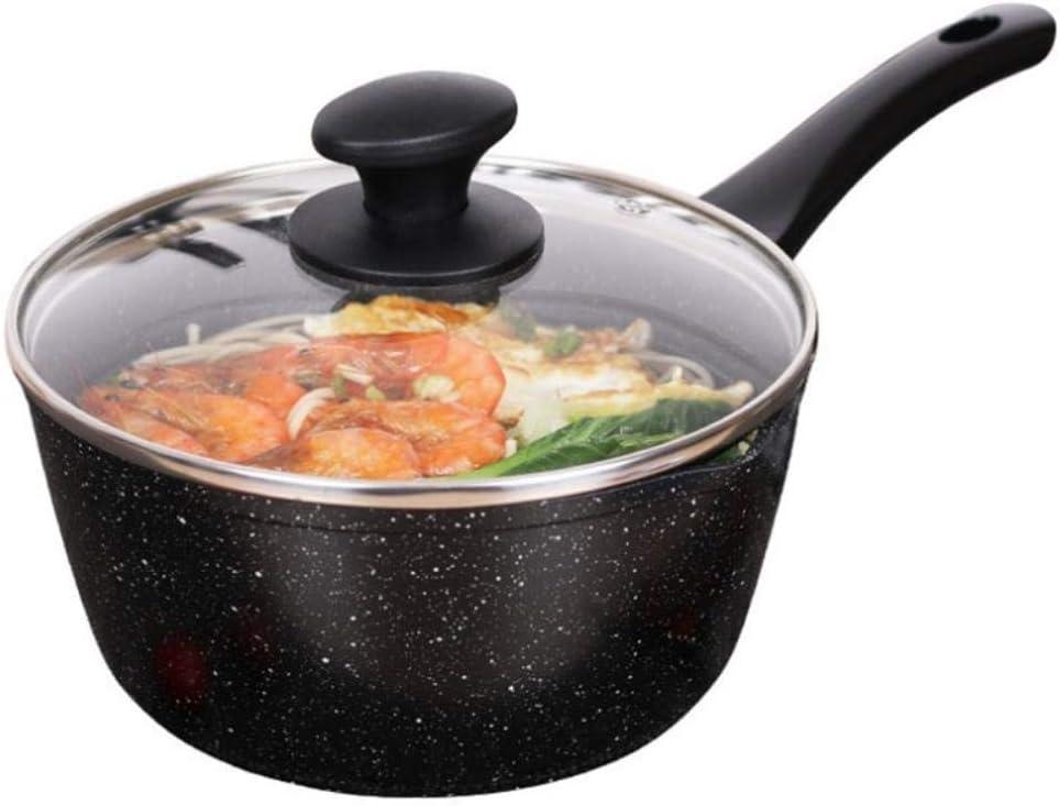 Maison en pierre Maifan petit lait antiadhésive lait chaud poêle cuisinière à induction pot mini soupe anti-adhésif universel, 20cm liuchang20 (Color : 18cm) 20cm
