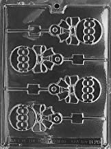 Cybrtrayd Life of the Party B028 Rattle Lolly Chocolate Candy Mold in Sealed Protective Poly Bag Imprinted with Copyrighted Cybrtrayd Molding Instructions