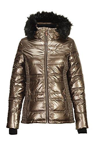 Killtec Damen Mette Fashion Snowboardjacke, Kupfer, 38