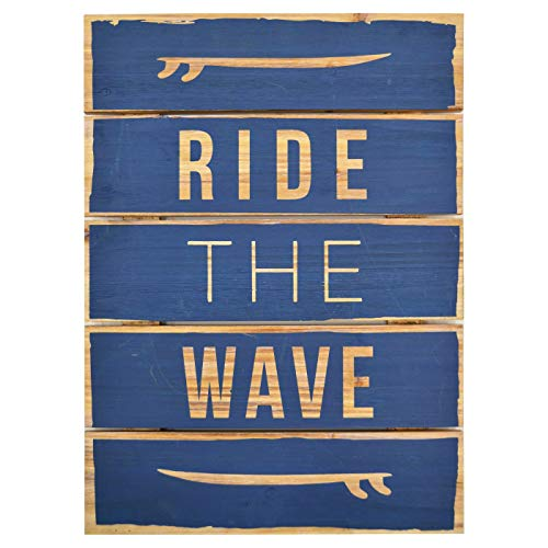 "16""x22"" Ride the Wave Wall Art - Pillowfort™"