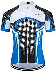 Maillot Ciclismo Hombre Verano Maillot MTB de Manga Corta Camiseta Bicicleta Transpirables