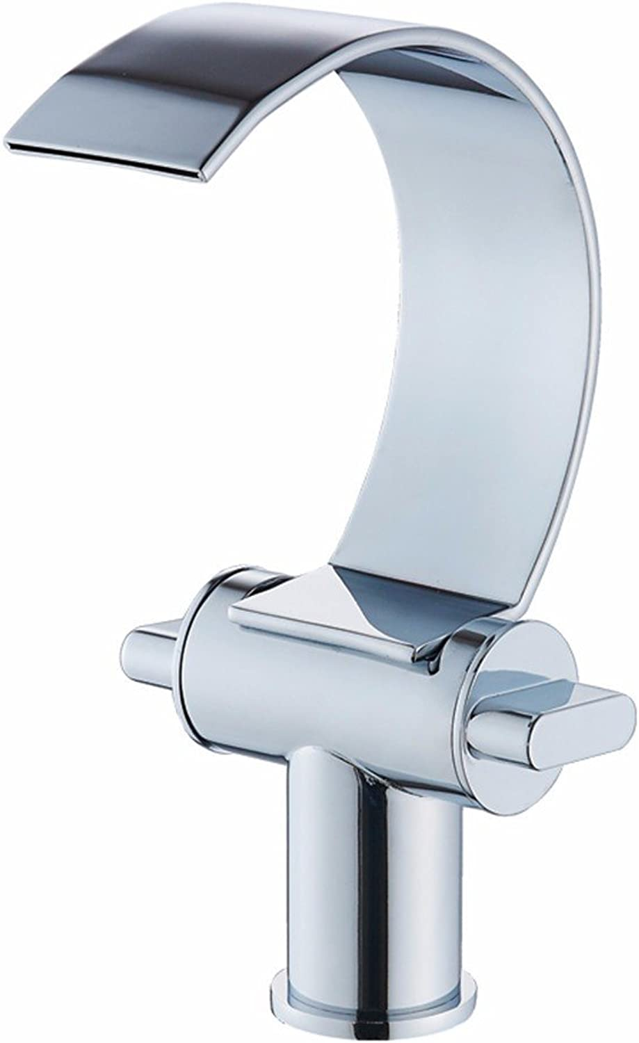 Hlluya Professional Sink Mixer Tap Kitchen Faucet The copper hot and cold basin faucet bathroom washing his face on the high table Taps