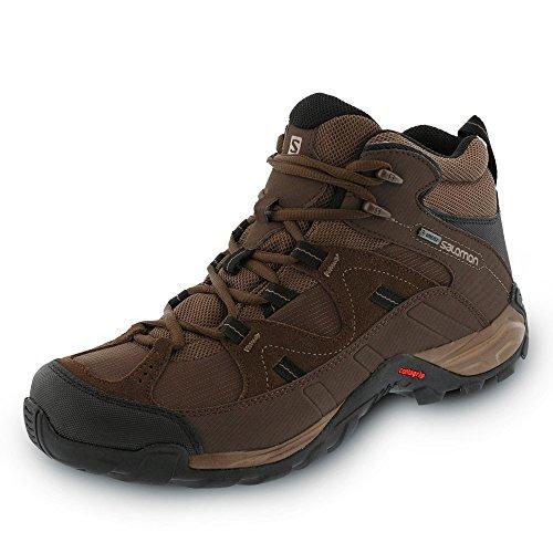 Salomon Hillpass Mid GTX Burro/Absolute Brown-X/Black 887850839413 48