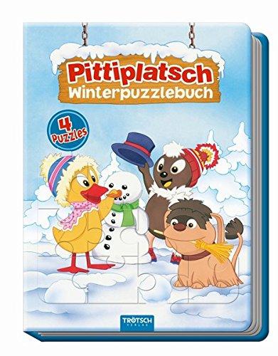 Trötsch Pittiplatsch Winterpuzzlebuch: Beschäftigungsbuch Entdeckerbuch Puzzlebuch